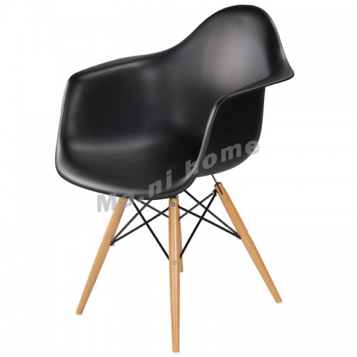 LINEA dining chair, black,100021