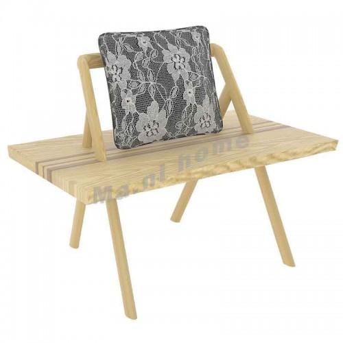 KATE 1000 單座休閒椅, 進口白腊木,803778