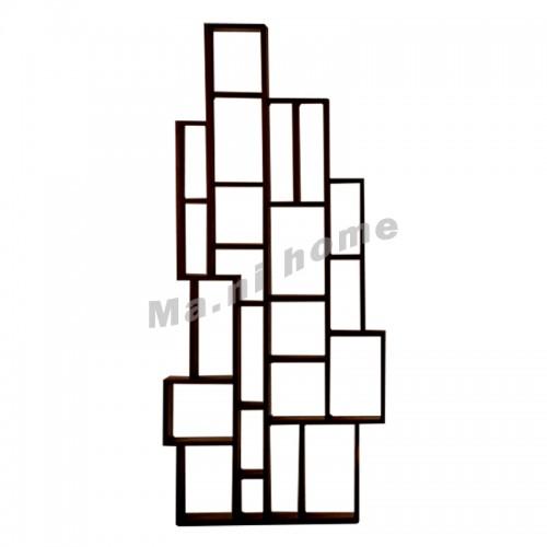 LEGOO 850 bookshelf, oak veneer, dark brown, 811979