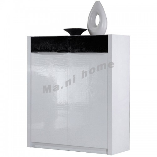 CUBO 800 shoes cabinet, gloss white,804920