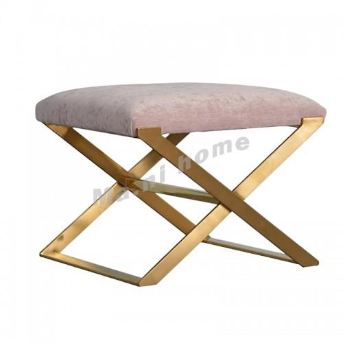 CHIC 600凳子, 粉紅色+金色, 813825