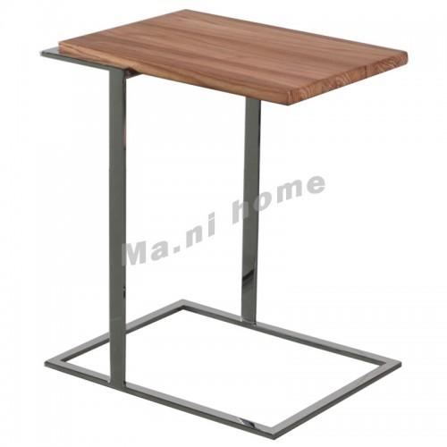 RAE 500 end table, alder wood+metal,803794