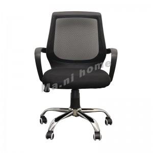 GOSH 工作升降轉椅, 中背, 黑色, 金屬腳座, 810606