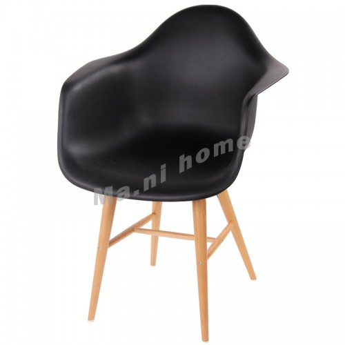 LINEA dining chair, black,800386