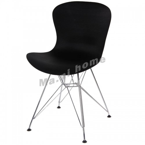 LINEA dining chair, black,800428