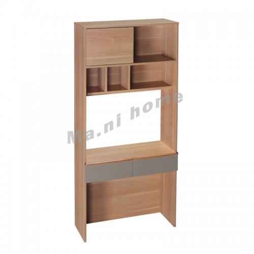 SHAKER 900 desk with bookshelf,805740