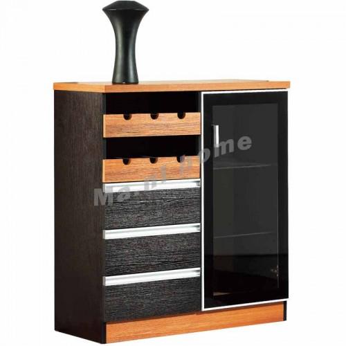 CUBO 800 sideboard, oak veneer,804994