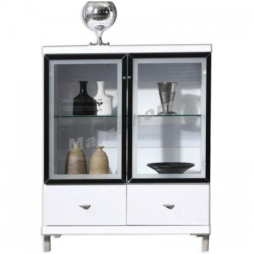CUBO 700 sideboard, gloss white,804924