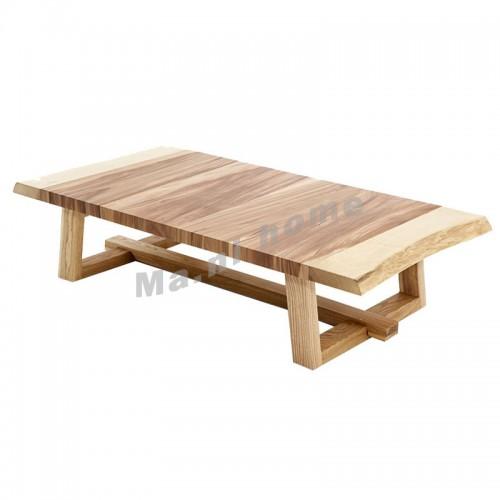 ALINE 1450 茶几, 進口白腊木及萍果木飾面,803739