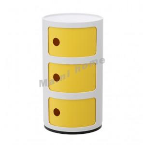 LINEA 型格角几, 塑料, 白色+黃色, 810403