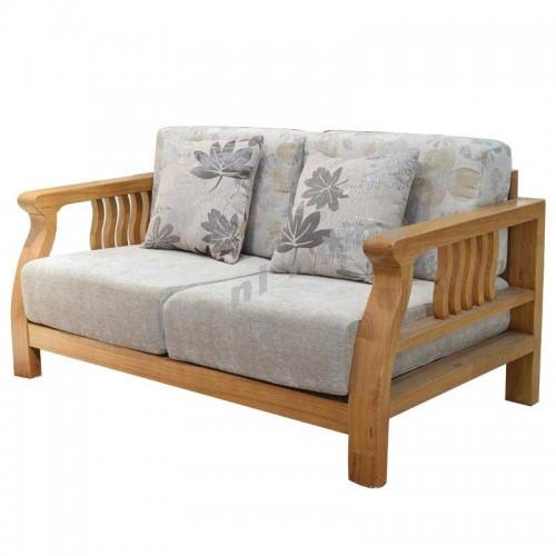 ONDA 1500 2 seat sofa, light walnut color,806383