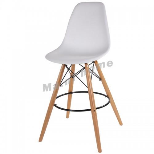 LINEA bar stool, white, 800560
