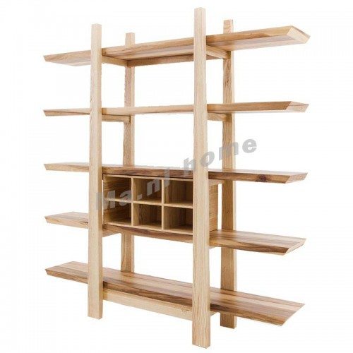 ALINE 1800 bookcase, white ash+apple wood veneer,803741