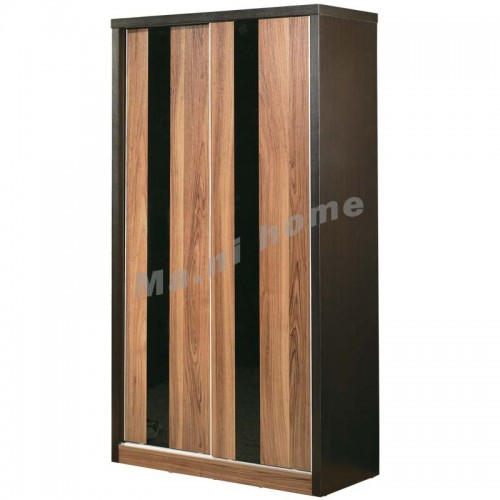 CUBO 900 shoes cabinet w/sliding door, oak veneer,804957