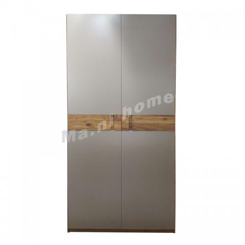 BRICK 1000 衣柜, 胡桃木飾面+灰色, 813119
