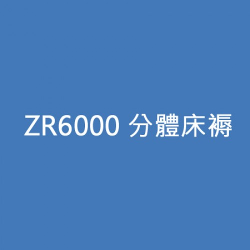 ZR6000 分體床褥,806521