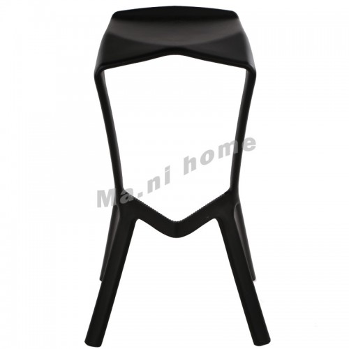 LINEA bar stool, black, 800553