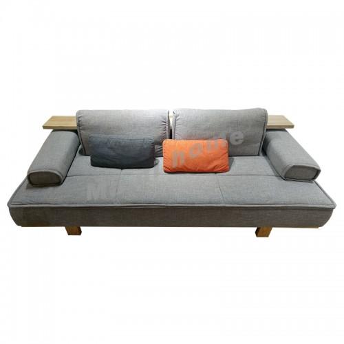 Aline 2 seat sofa, white ash, 812016