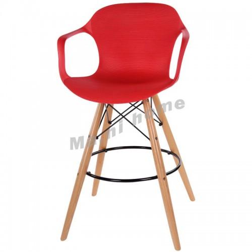LINEA bar stool, red, 800576