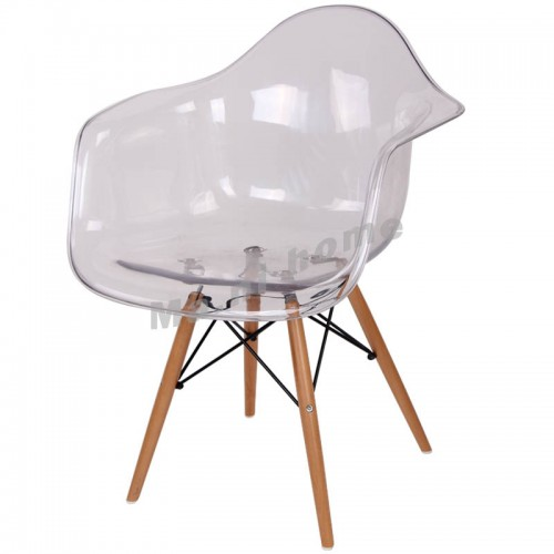 LINEA dining chair, clear