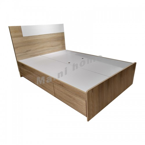 CADE 900 bed, oak color, 811813