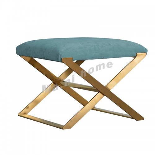 CHIC 600 stool, blue+gold color
