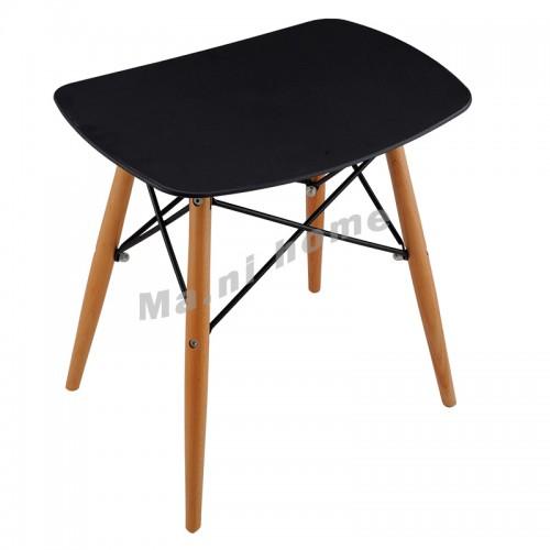 Glider stool, black, 100015