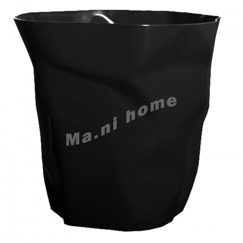 FOLD rubbish bin, black, 813850