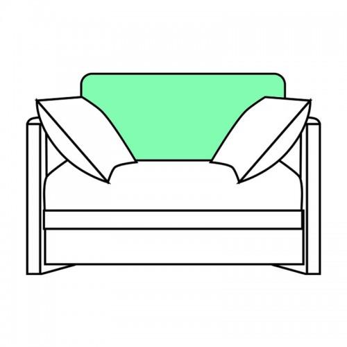 MATTO 1000 slipcover of backrest, for 800702,800704