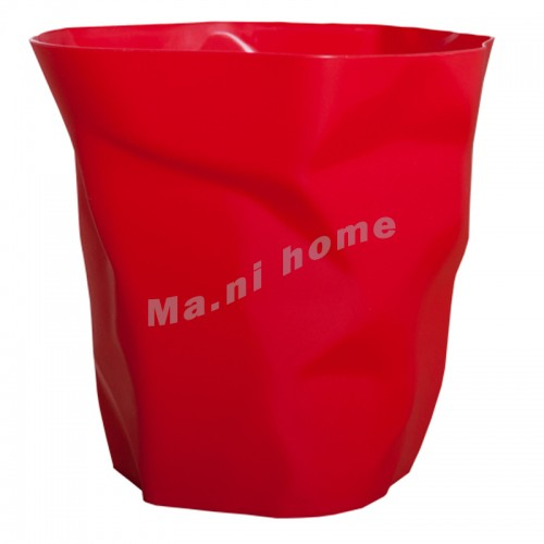 FOLD rubbish bin, red, 813852