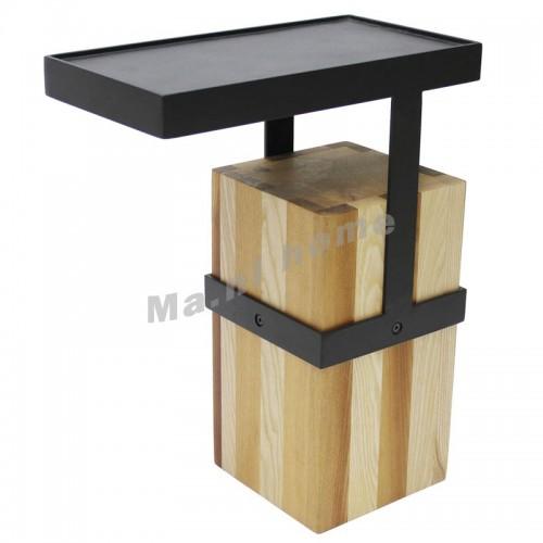 RAE 400 end table, white ash,803796