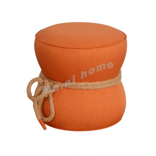 CHIC 480 ottoman, orange, 813822