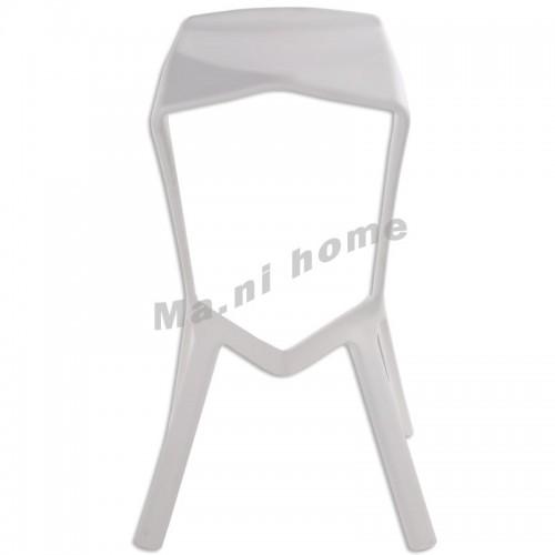 LINEA bar stool, white,800552