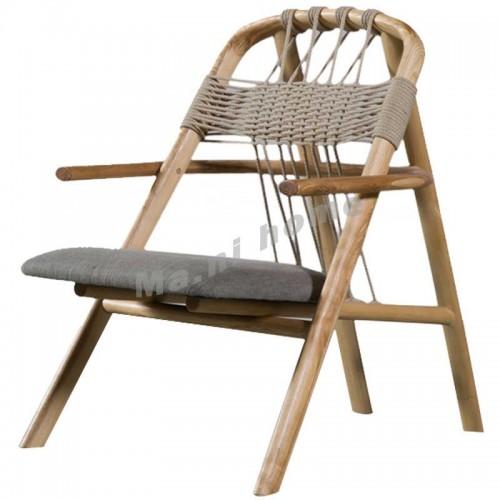 KATE 630 休閒椅, 進口白腊木,803805