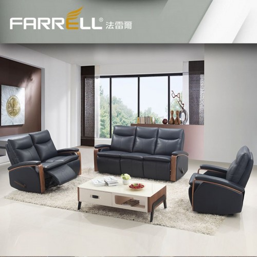 FARRELL ERMES recliner, leather