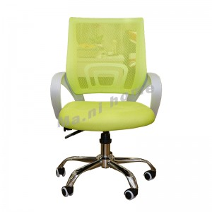 GOSH office chair, white+green, 810604