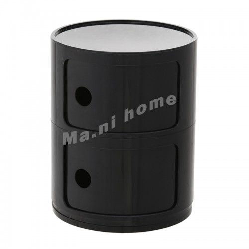 LINEA end table, black, 810404