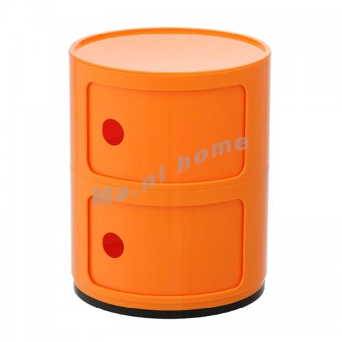 LINEA end table, orange, 810408