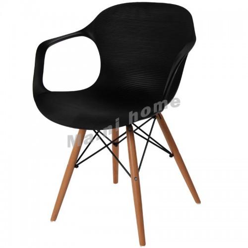 LINEA dining chair, black,800434