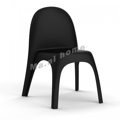 BALLOON dining chair, black,100013