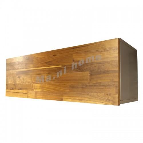 BRICK 1100 掛牆柜, 灰色+胡桃木飾面, 810958