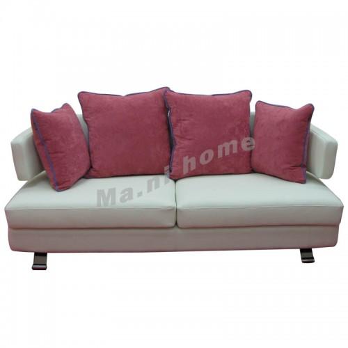 HUG 1900 3 seat sofa, leather+fabric, 800647
